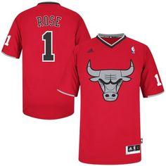 4c8fbffbf21 adidas Derrick Rose Chicago Bulls 2013 Christmas Day Swingman Jersey