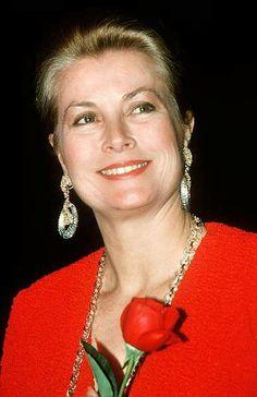 Die Fürstin im Jahre 1980. Ihr schönes Gesicht hat sie an ihre Töchter Caroline und Stéphanie vererbt.