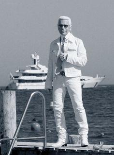 La villa Kérylos vue par Karl Lagerfeld.
