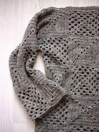 Resultado de imagen de Grannys Squares calados para blusas