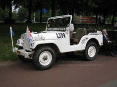 A 1960 NEKAF Jeep M38 A1 from the Royal Dutch army