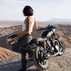 Excited to welcome @funkymunkey80 and her beautiful Triumph to the crew…