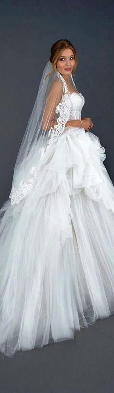 Atelier Eme Bridal rovetta strapless tulle gown♡♡♡♡♡