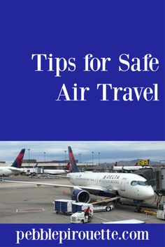 Travel Tips for Safe Air Travel from Pebble Pirouette | As the world slowly starts to open again after the COVID19 pandemic, many people are worried about travel safety. I wrote down some travel tips for safe air travel on a recent domestic flight. My hope is that they alleviate some of your stress on your next trip. | travel safety tips, flying safety, travel during pandemic Air Travel, Solo Travel, Travel Advice, Travel Tips, Budget Flights, Best Airfare, Domestic Flights, Enjoy Your Vacation, Travel Reviews
