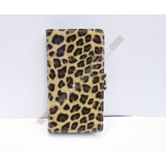 Funda divertida diseño leopardo para Xperia SP