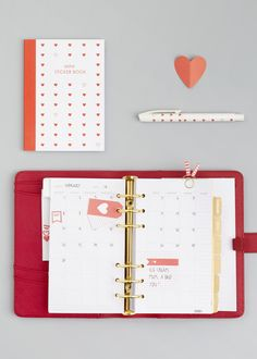 Celebrate Chinese New Year with our Limited Edition Red Planner