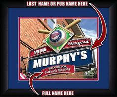 Use this Exclusive coupon code: PINFIVE to receive an additional 5% off the Minnesota Twins MLB Personalized Pub Print at SportsFansPlus.com