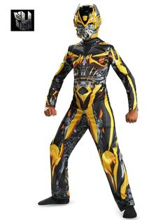 Check out Transformers Bumblebee Classic Costume - TV u0026 Movie Boys Costumes from Wholesale Halloween Costumes  sc 1 st  Pinterest & 43 best Transformers Costume Ideas images on Pinterest | Costumes ...