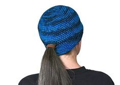 Ponytail beanie pattern and video