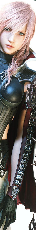 Lightning, Final Fantasy XIII: Lightning Returns. Not a huge fan, but I can't deny the epic character/costume design