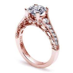 Tacori Rose Gold Engagment Ring! Beautiful!!!