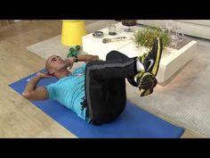 Aprenda exercícios em casa para fortalecer a lombar! - YouTube