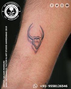 Cute Tattoos, Hand Tattoos, Taurus Wallpaper, C Tattoo, Taurus Tattoos, Fine Line Tattoos, Realism Tattoo, Tattoo Studio, Tattoo Artists
