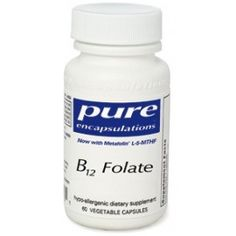 Folic acid and vitamin B12 are interrelated in function. They convert carbohydrates into energy and are vital in the metabolism of fats and protein.  WANT TO ORDER THIS PRODUCT? Go to www.healthdesigns.com and use the coupon FTC5DO to get 5$ off your first opening order!