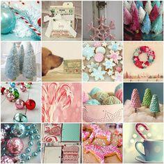 Christmas inspiration: Vintage Pastel by moline, via Flickr