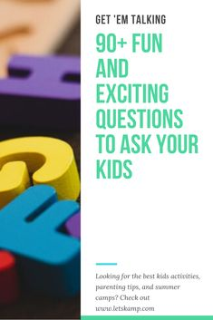 Do you want to know more about your kid and develop a stronger bond? Then you should learn these questions to ask kids. It's simple yet fun and exciting! The best part about this is that these daily questions for kids are free! Click now to learn more! Questions To Ask, This Or That Questions, Funny Kids, Parenting Hacks, Your Child, Cool Kids, Activities For Kids, Bond, Good Things