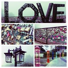 Love Locks Penang Hill