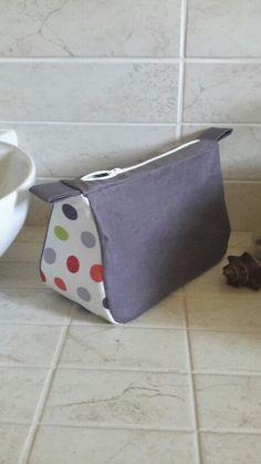 Trousse de toilette fait maison(tutoriel blog Lm les croix)
