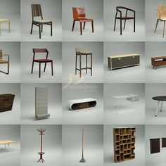3D MODEL: Furniture Collection vol.1