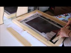 Screen Printing - YouTube