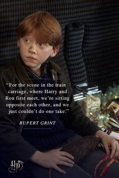 Rupert Grint on filming with Daniel Radcliffe