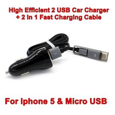 Car-charger 2 USB Car Charger