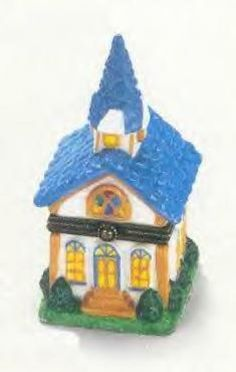 Church Porcelain Hinged Box Midwest NIB