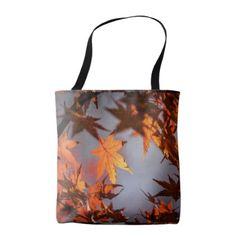 Fall Wonderland of Autumn Colour Tote Bag - autumn gifts templates diy customize
