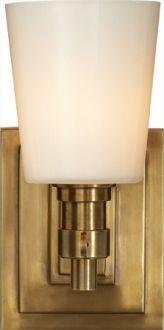 BRYANT SMALL SINGLE BATH SCONCE - Circa Lighting