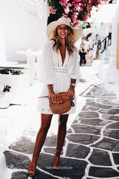 summer vacation outfit