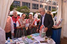 One of the cultural highlights was the Sorbian National Ensemble from Bautzen/Budyšin (http://www.sne-bautzen.de/)