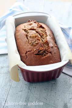 Gluten-Free Banana Nut Bread Recipe