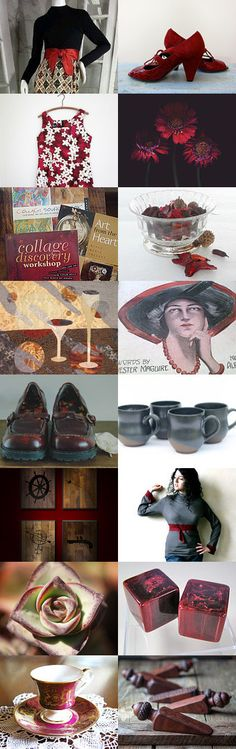 red wine by Katerina on Etsy--advertisement bakelite buster brown ceramic doorstops flapper gerbera hawaiian mugs photography quilt shirt shoes succulent teacup wall hanging wine red