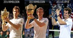 All the Grand Slam winning by Andy Murray ;)