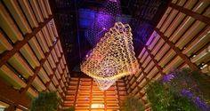 SLS 2013 Hotel!   Hilton Anatole Hotel, Dallas, Tx - Nebula in Atrium II