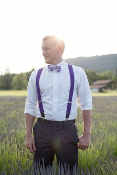 #WellGroomed with Bow Tie and Suspenders! | www.thebridaldetective.com