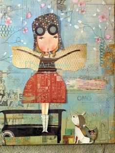 """Born to Fly"" Art print from Patti Ballard"