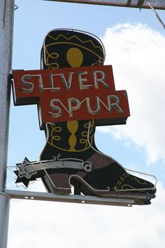 We need this for our ranch--Silver Spur Ranch   This is Silver Spur Ol' Neon Sign ~ Amarillo, TX
