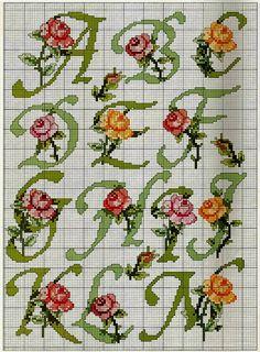 alfabeto fiori