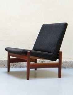 Anonymous; Teak Lounge Chair by Karl Sørlie & Sønner, 1950s.