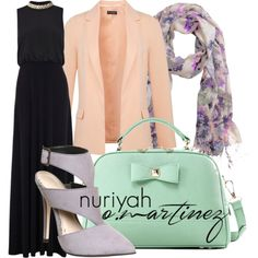 Hashtag Hijab Outfit #511 by hashtaghijab on Polyvore featuring Coast, Miss Selfridge, Office, Axixi, H&M and hijab