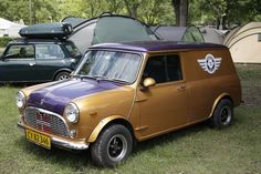 MINI Clubvan's grandfather looked eternally stylish at the International Mini Meeting 2012 in Hungary.