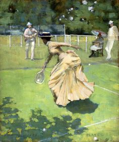 Played!, by Sir John Lavery, 1885