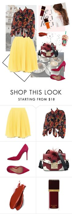 """""""Warm colors"""" by alinawela18 ❤ liked on Polyvore featuring Boutique Moschino, Marco Barbabella, Furla, Balmain and Tom Ford"""