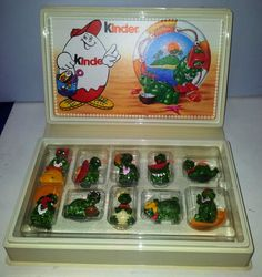 Kinder Sorpresa Uberraschung Surprise Tartallegre Turtles Diorama Book | eBay