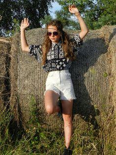 19. Dziewczyna z lat 70 | style hippie | etno | aztec | Stylówka by Zuuppa-4U ;) #style #aztec #etno #hippie #girl