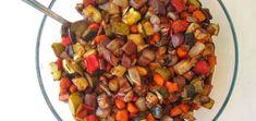 ¿Te imaginabas que podrías asar verduras sin aceite? Estas verduras asadas con vinagre balsámico son un acompañamiento perfecto para carne, pescado o arroz.