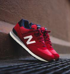 Red New Balances