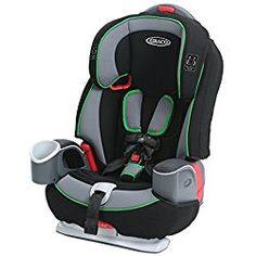Graco Nautilus 65 3-in-1 Harness Booster Baby / Infant Car Seat, Fern Green