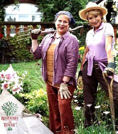 .I love how Rosemary Boxer dresses for gardening - I always look more like Laura Thyme...